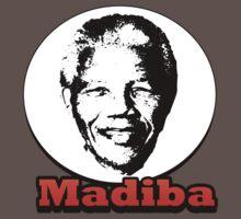 Nelson Mandela - Madiba by erinttt