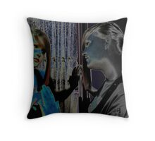 Angel in the Mirror Throw Pillow