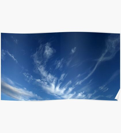 English Skyscape Poster