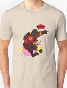 Pyro charge! [red] T-Shirt
