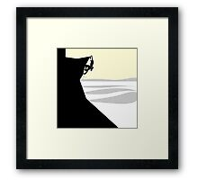 Rock Climber Framed Print