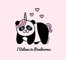 I believe in Pandicorns by zoel