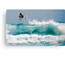 LONG BEACH SURFER Canvas Print