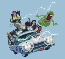 The Real Ghostbusters One Piece - Short Sleeve