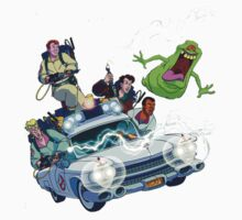 The Real Ghostbusters One Piece - Long Sleeve