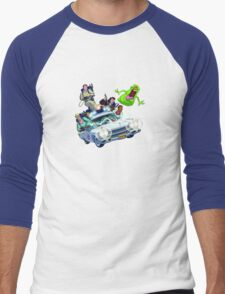 The Real Ghostbusters Men's Baseball ¾ T-Shirt