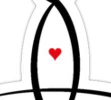 Meditator Sticker