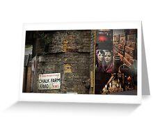 Chalk Farm Road - Camden Town, London Greeting Card