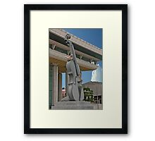 Unstringed In Stone Framed Print