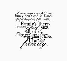 Family Don't End in Blood Unisex T-Shirt