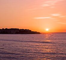 Bondi Sunrise - Bondi Beach, Sydney, Australia by Mark Richards