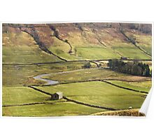 Littondale in the Yorkshire Dales Poster