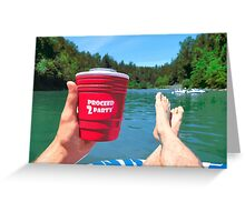 Summer Float Greeting Card