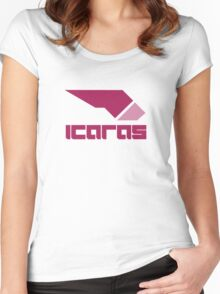Wipeout Pulse - Icaras Women's Fitted Scoop T-Shirt