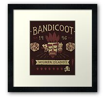 Bandicoot Time Framed Print