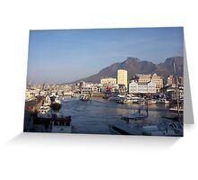 Harbour magic Cape Town South Africa Greeting Card