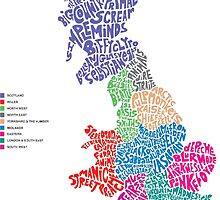 british bands Maps by hophop