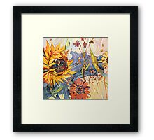 Summer Sun Framed Print