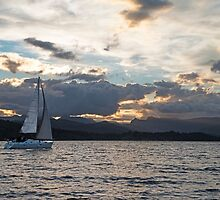 Sailing on Windermere by Nick Jenkins