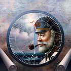 NEWS & Map Captain /Decor or Sea Captain by Yoo Choong Yeul