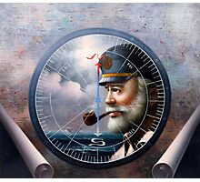 Sea Captain 6 Photographic Print