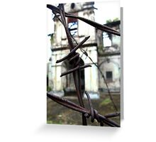 Barbed Colonial Greeting Card