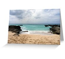 Savannah, South Coast, Grand Cayman, Caribbean Greeting Card