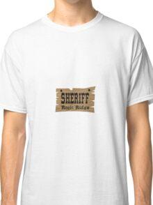 Sheriff Rock Ridge Classic T-Shirt