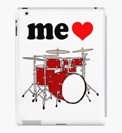 Me Love Drums iPad Case/Skin