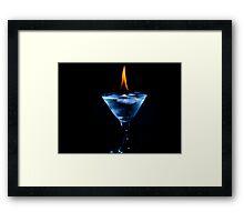 Ice&Fire Framed Print