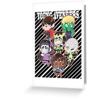 Print: Young Avengers Greeting Card