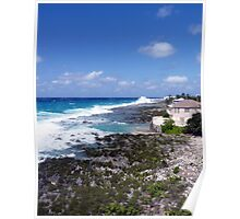 Lighthouse Point, North West Coast, Grand Cayman, Caribbean Poster