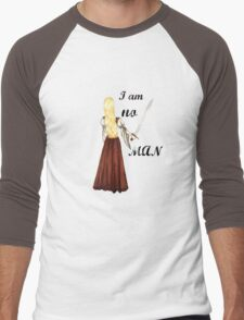 I am no man Men's Baseball ¾ T-Shirt