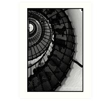 staircase shell Art Print