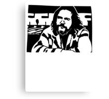 Big Lebowski THE DUDE Canvas Print