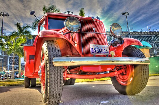 1934 Texaco Truck by njordphoto