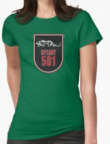 SPZABT 501 UNIT INSIGNIA Womens Fitted T-Shirt
