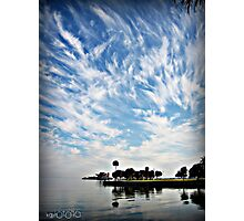 Awesome clouds Photographic Print