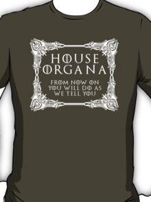 House Organa (white text) T-Shirt