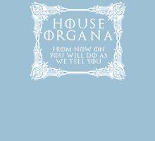 House Organa (white text) Unisex T-Shirt