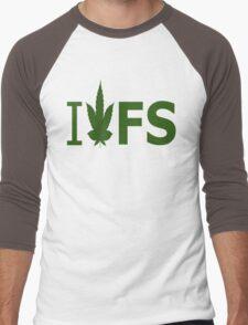 I Love FS Men's Baseball ¾ T-Shirt