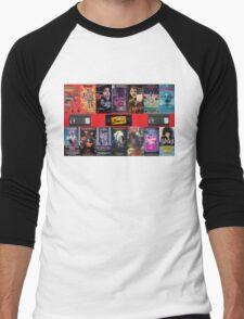 VHS Nasties Men's Baseball ¾ T-Shirt