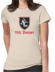 11th PANZER UNIT INSIGNIA Womens Fitted T-Shirt