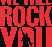 We will rock you by hophop