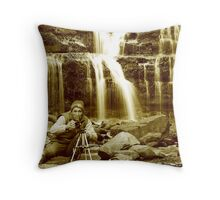 """""""Me @ Liffey @ 0700"""" Throw Pillow"""