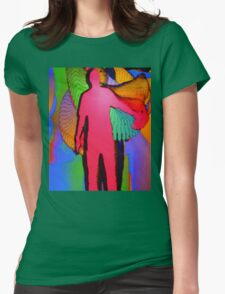 Human Movement in Color Womens Fitted T-Shirt