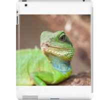 green lizard iPad Case/Skin