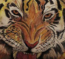 Tiger tiger by Veena  Gupta