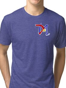 Yu-Gi-Oh GX - Duel Academy Logo Tri-blend T-Shirt