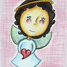 Little Love Angel by Rosie Harriott